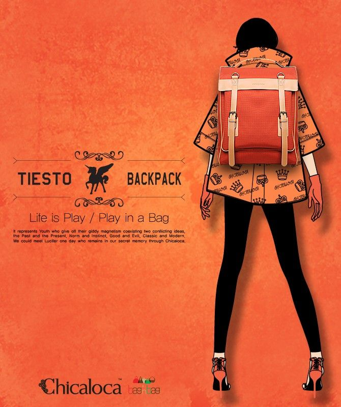 Tiesto backpack