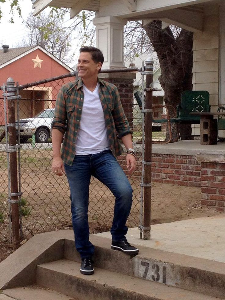 Rob Lowe Visits 'The Outsiders' House on His 53rd Birthday
