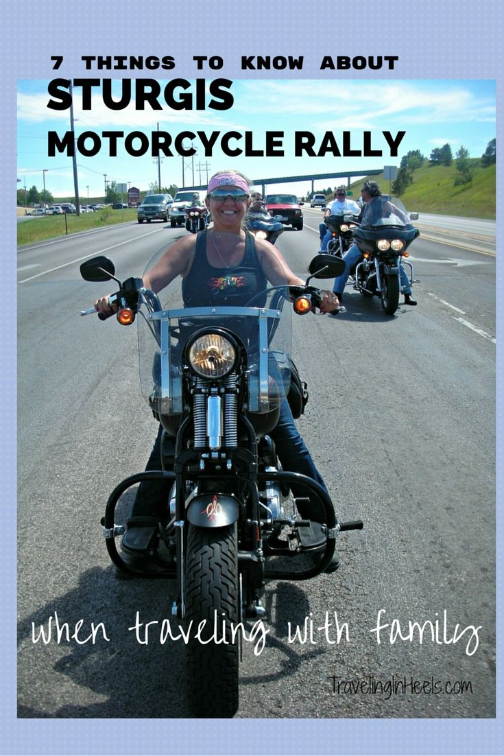 Visiting Sturgis SD During the Massive Motorcyle Rally
