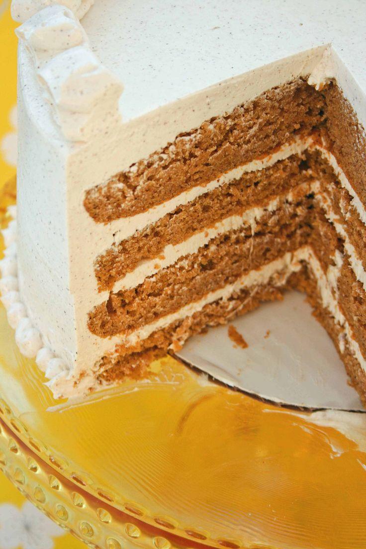 Pumpkin Marshmallow Cinnamon Cake: