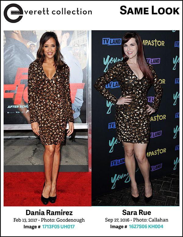 Stunning Ladies, Same Look: Dania Ramirez and Sara Rue