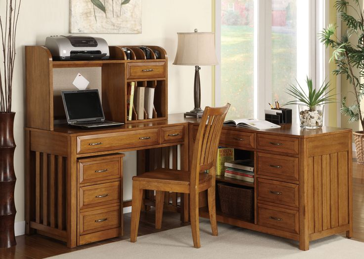 Hampton Bay  Hampton Bay L Desk Set in Oak  Dining Room Table Sets  Bedroom  Furniture  Curio Cabinets and Solid Wood Furniture   Model   Home Gallery  Stores. 256 best Work it  images on Pinterest   Bedroom furniture  Solid