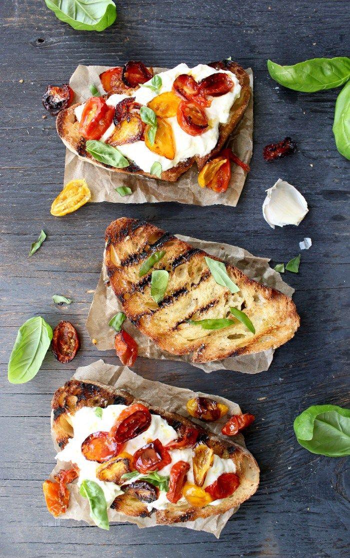 Burrata Bruschetta ciaoflorentina.com