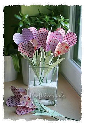Paper Hearts Bouquet