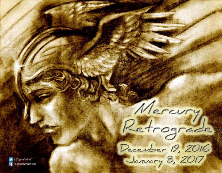 "Mercury Retrograde in Capricorn Starts Today! ;)  The fourth Mercury Retrograde Cycle of 2016 occurs in Capricorn (15o 08"") on December 19 at 10:56 am Universal Time 5:56 am Eastern Time and 2:56 am Pacific Time.  Mercury goes direct in Sagittarius (28o 51"") on January 8 2017 at 9:43 am Greenwich or Universal Time and 4:43 am Eastern Time 1:43 am Pacific Time.  #retrograde #mercury #mercuryretrograde - http://ift.tt/1oNRVdq"