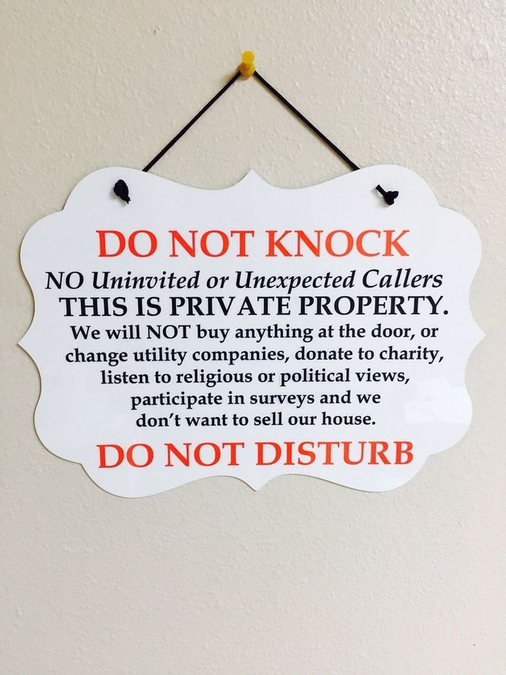 25 Best Ideas About No Soliciting Signs On Pinterest No