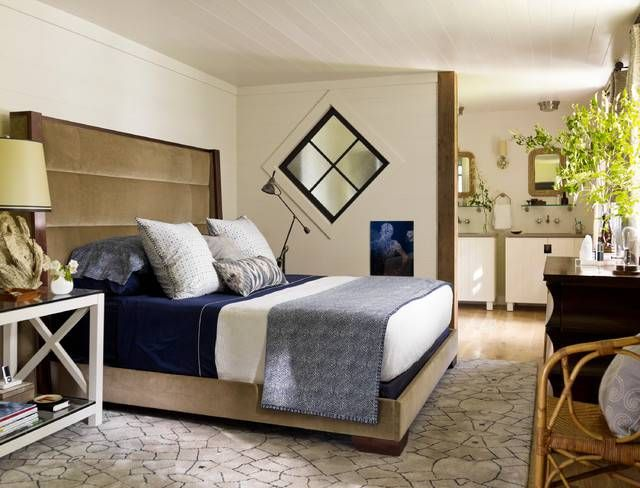 Bedroom Color Tricks For Falling Asleep Faster: city escape