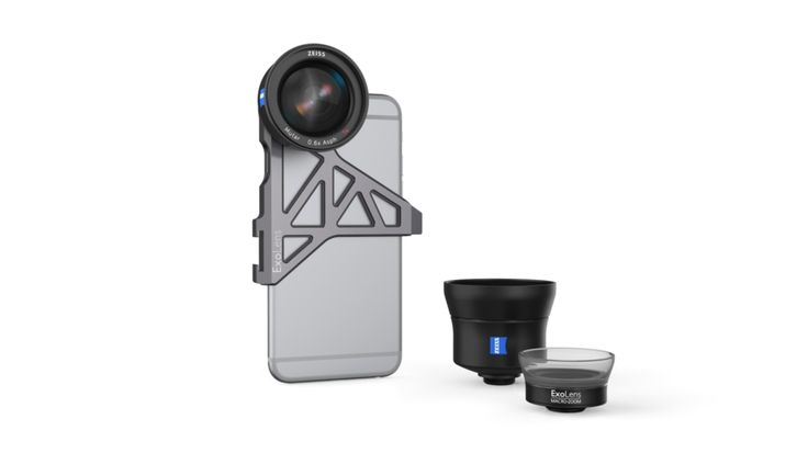 ExoLens and ZEISS Partner to Create High Quality Mobile Photography Lenses - http://DesireThis.com/3864 - ExoLens recently announced that they are in collaboration with ZEISS to developed high quality mobile photography lenses. At launch, ExoLens with optics by ZEISS will be available for iPhone 6/6s and iPhone 6 Plus/6s Plus, with the goal of adding more devices in the future.