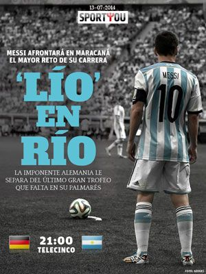 Mundial de futbol 2014 La Final