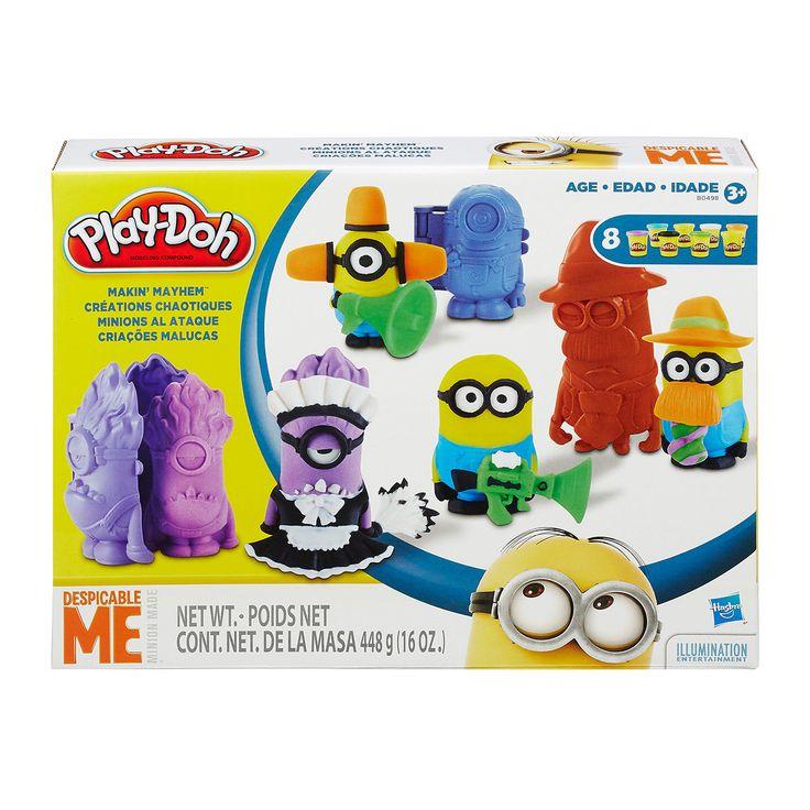 Play-Doh Verschrikkelijke Ikke - Minions Speelset online kopen | Lobbes.nl