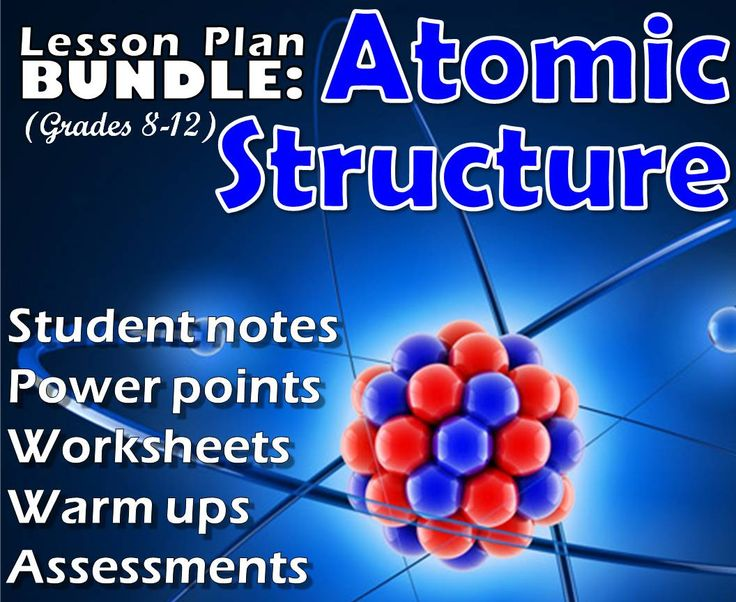 The 33 best msrazz chemclass resources images on pinterest lesson plan bundle atomic structure fandeluxe Choice Image