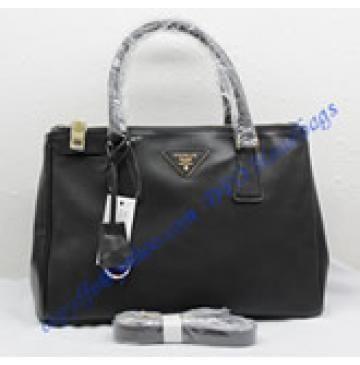 931d0b1e10 Prada Saffiano Leather Tote P1801 black