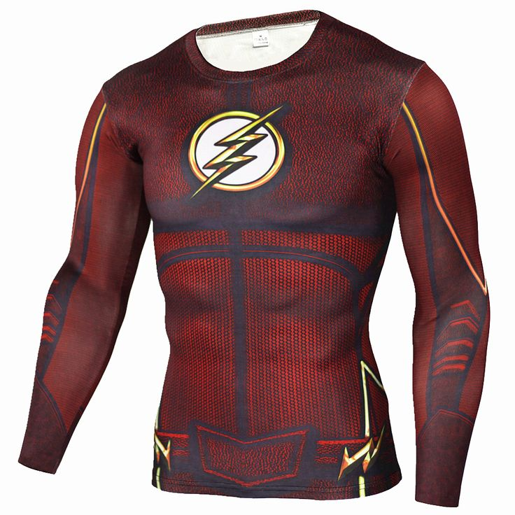 Mens Anime The Flash Barry Allen 3D Printed T Shirts Compression Shirt Fitness Men Crossfit Long Sleeve T Shirt Brand Clothing -  http://mixre.com/mens-anime-the-flash-barry-allen-3d-printed-t-shirts-compression-shirt-fitness-men-crossfit-long-sleeve-t-shirt-brand-clothing/  #T-Shirts