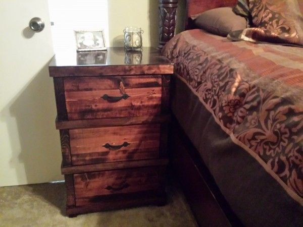 Pottery Barn Kids Nightstand modified | Do It Yourself Home Projects from Ana White