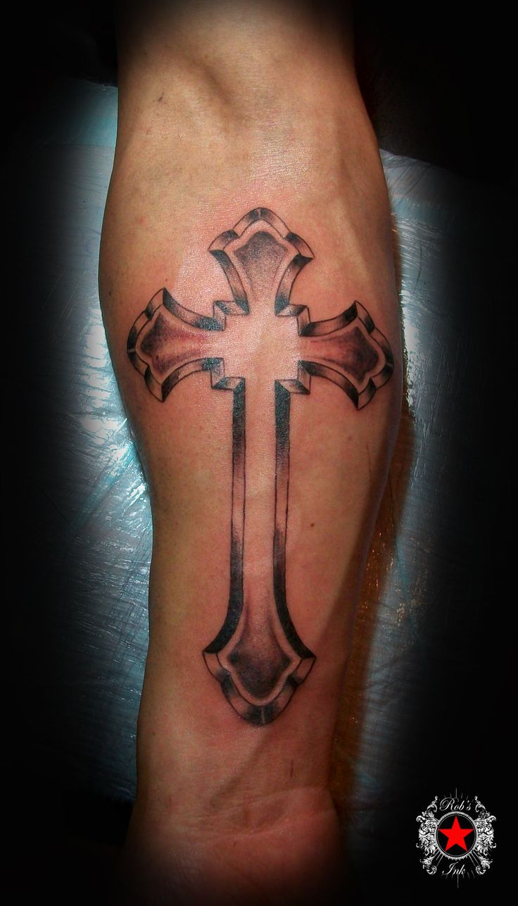 Sharp Cross Tattoo Design: 27 Best Forearm Cross Tattoo Designs Images On Pinterest
