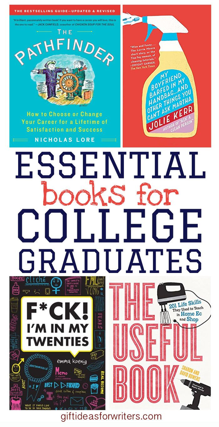 17 best ideas about college graduation gifts these essential books for college graduates provide