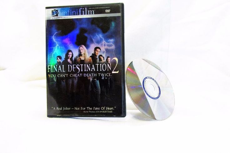 Final Destination 2 DVD Movie 2-3 Rated R  infini film