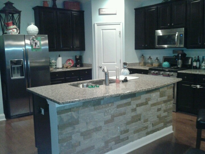 airstone kick panel backsplash from lowesno more shoe scuffs at the breakfast - No Backsplash In Kitchen