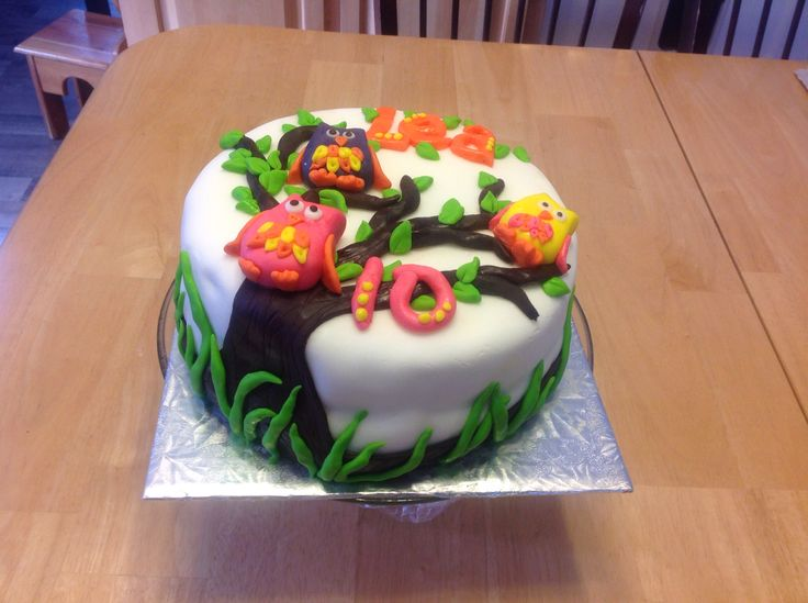 Gâteau hiboux fondant
