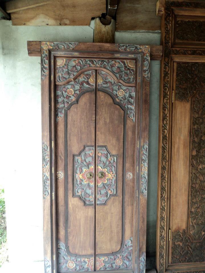Antique wooden door from Bali & 48 best Wood Carvings images on Pinterest | Wood carvings Bali ... Pezcame.Com
