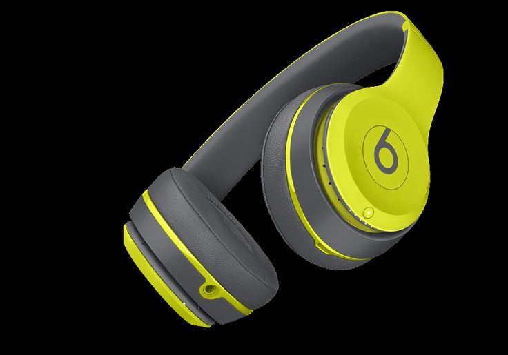 Beats solo2 wireless(Shock Yellow)null