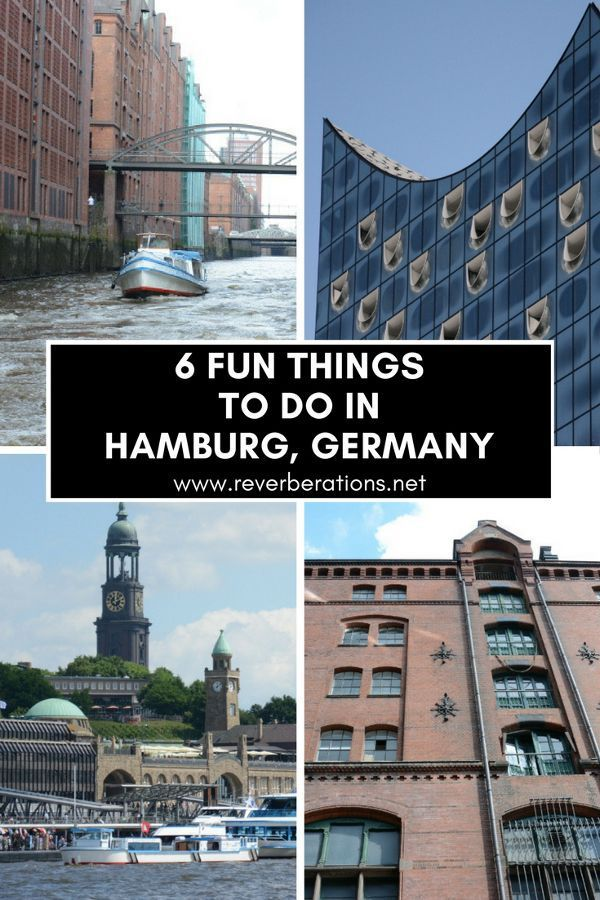 From the waterfront, to the harbor and world class museums, here are 6 fun things to do in Hamburg, Germany! Young, urban and hip, Hamburg has lots to see and do. #hamburg #germany