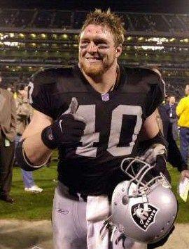 19...Jon Ritchie - FB - Oakland Raiders #40