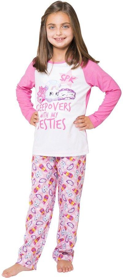 Intimo Shopkins Beauty Sleep Pajama Set (Little Girls & Big Girls)
