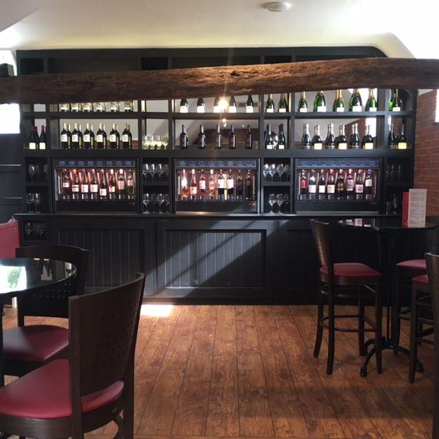 Bench Wine Bar & Tapas, Mersham Kent  WineEmotion Wine Dispenser