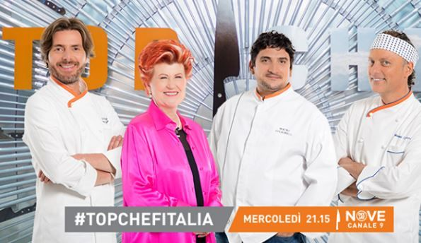 Top Chef Italia sbarca su Nove, sfida tra 15 cuochi