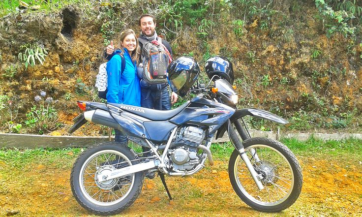 Ya sea en bici o en moto, aqui amamos las dos ruedas, gracias a todos esos viajeros #RUEDALIBRE :D