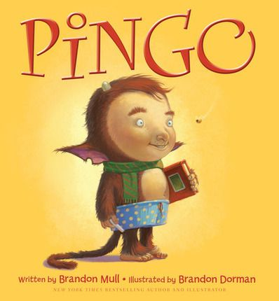 Pingo~~ You have probably heard of the Fablehaven series by Brandon Mull, but did you know he has written a couple of children's books?    Pingo tells of the importance of having a friend---even if that friend is an imaginary friend.    When Chad thinks he is too old for his imaginary friend...    Pingo, the imaginary friend, creates a lot of mischief to get back Chad's friendship...    FUN, FUN story!