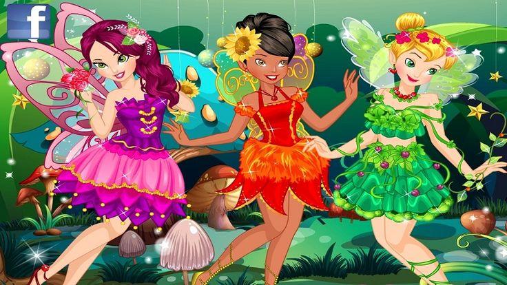 Em Fadas Disney Fashion, as Fadas Disney: Tinker Bell, Iridessa e Rosetta são grandes amigas. Hoje elas vão a uma grande e magica festa na Toca dos Duendes e precisam estar lindas e esplendorosas. E para isso elas contam com sua ajuda. Ajude as fadinhas Disney encontrar um lindo visual para ficarem ainda mais bonitas. Divirta-se jogando com as Fadas Disney!