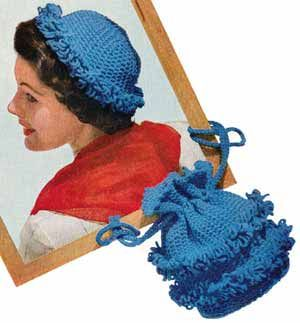 Free Crochet Patterns For Vintage Hats : 1000+ images about Crochet Vintage Hats on Pinterest ...
