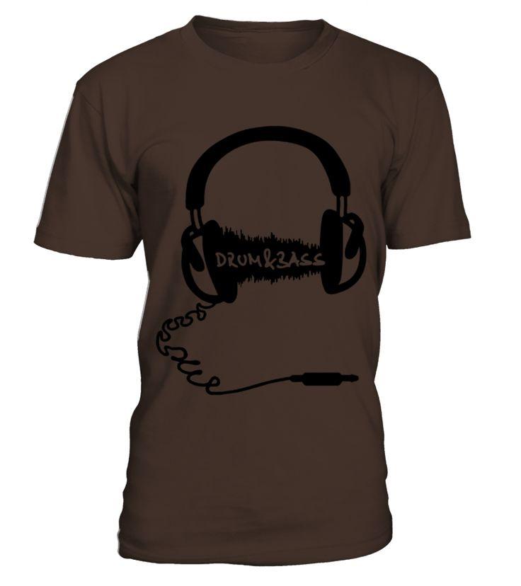 Headphones Headphones Audio Wave Motif DrumBass DB T Shirts  #gift #idea #shirt #image #music #guitar #sing #art #mugs