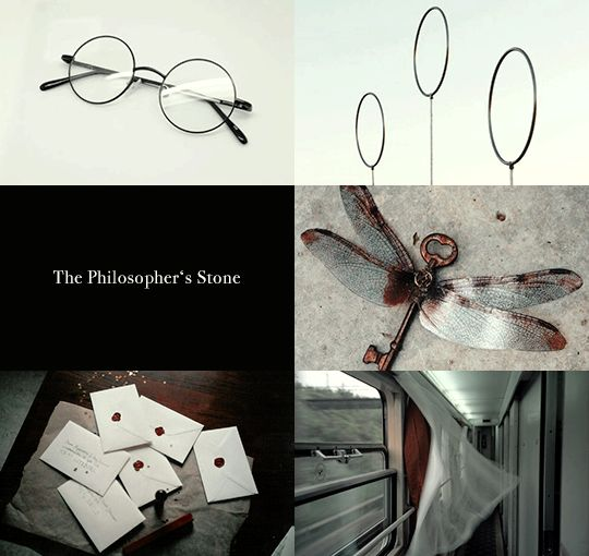 Harry Potter aesthetics: Yr 1