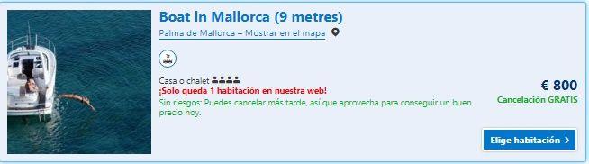 Alójate en el corazón de Palma. Es una casa con terraza situada en Palma de Mallorca. Hay aparcamiento privado y WiFi gratuita. El alojamiento dispone de zona de estar, zona de comedor, cocina con horno, nevera y fogones. El Boat in Mallorca también cuenta con solárium. Mallorca está a 200m del club náutico de Palma, a 9m del puerto de Palma y a 700m del puerto de Palma. En la zona se pueden practicar diversas actividades, como snorkel y pesca. El aeropuerto de Palma de Mallorca está a 8 km.