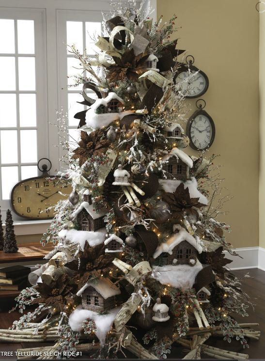 Masculine Christmas Tree 309 best holiday ~ christmas trees images on pinterest   merry