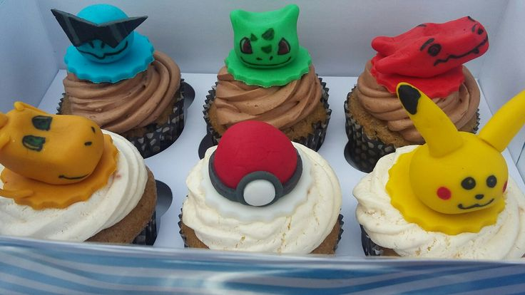Cupcakes pokemon