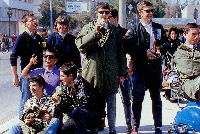 Mods at Rimini, 1989