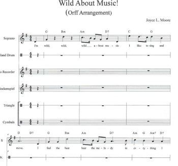 Music Worksheets for Kids