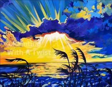 17 best images about art landscapes on pinterest for Painting with a twist san diego