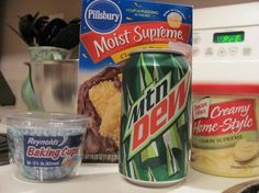 easy mountain dew cupcakes These cupcakes are amazing... Took them to VBS and kids and adults loved them.