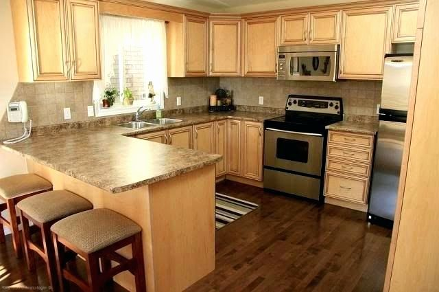 Image Result For Maple Kitchen Cabinets With Dark Wood Floors Maple Kitchen Cabinets Light Wood Cabinets Hardwood Floors In Kitchen