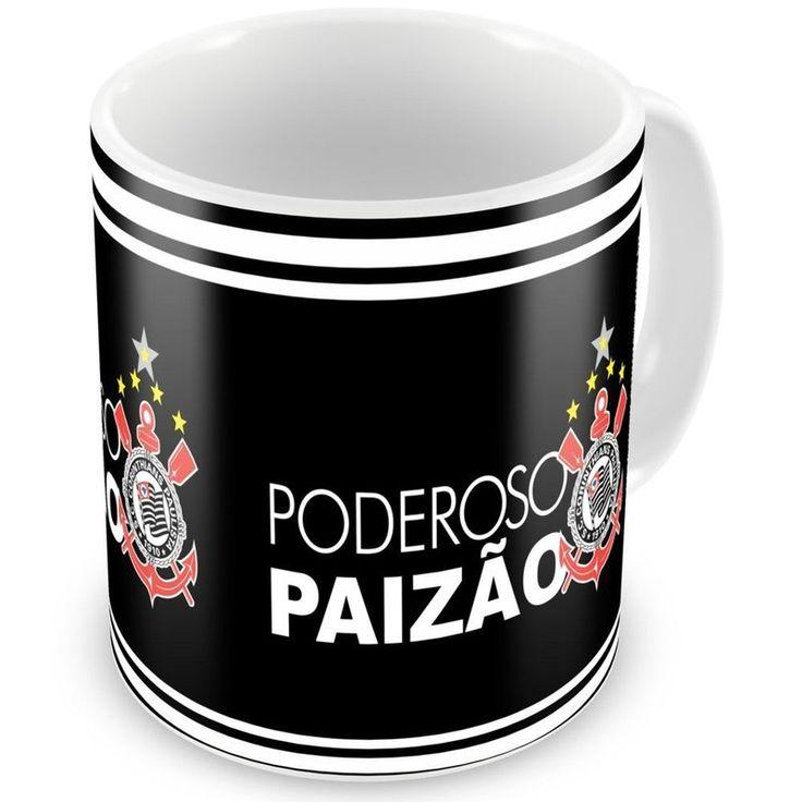 Caneca Personalizada Poderoso Paizão Corinthians - ArtePress - Brindes em Almofadas, Canecas, Copos, Squeeze