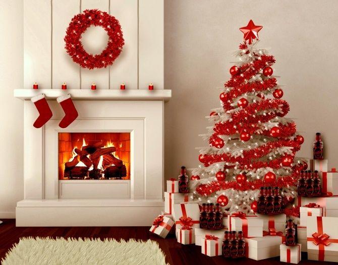 I colori di tendenza per addobbare la casa per Natale 2015