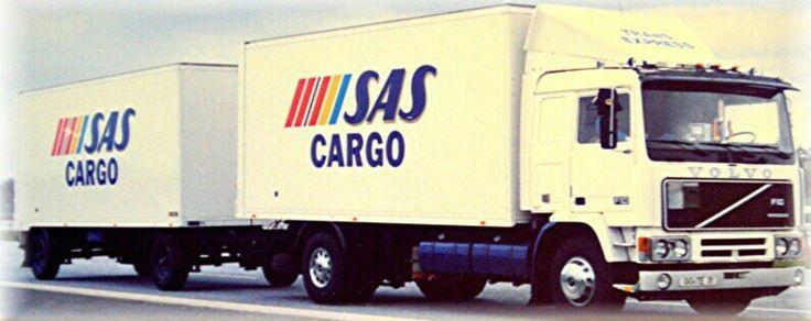 SAS Cargo Volvo truck