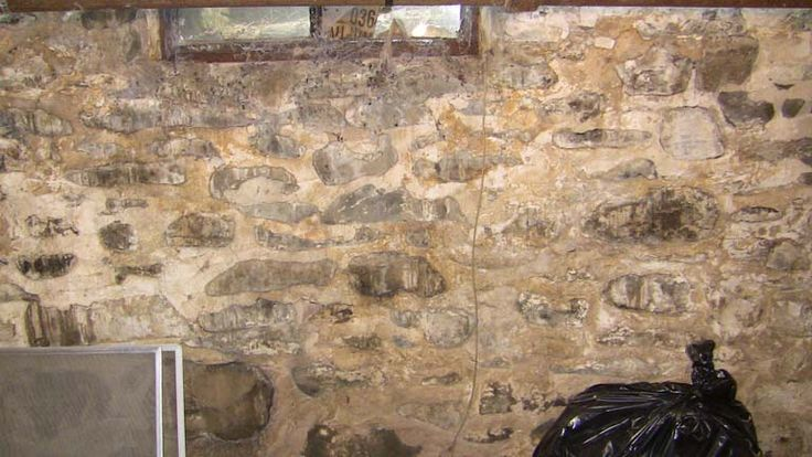 Foundation Repair Old Stone Basement, How To Fix A Stone Basement Wall