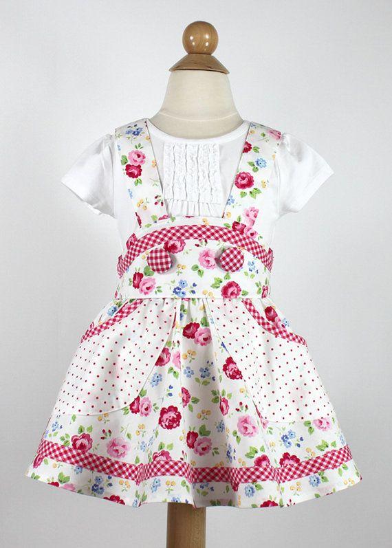 Retro school jumper pdf sewing pattern girl by mackandlilypatterns