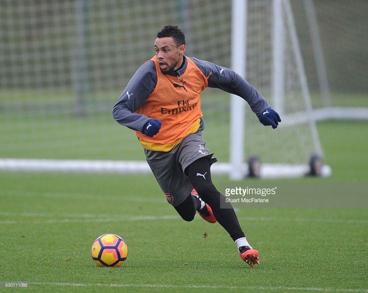 Francis Coquelin of Arsenal during a training session at London Colney on December 31, 2016 in St Albans, England. (Photo by Stuart MacFarlane/Arsenal FC via Getty Images)
